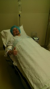 Ryan Prepped for Surgery